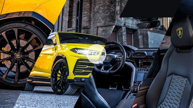 Lamborghini Urus - informieren, kaufen oder leasen