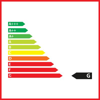 Fahrzeug Effizienz Klasse G